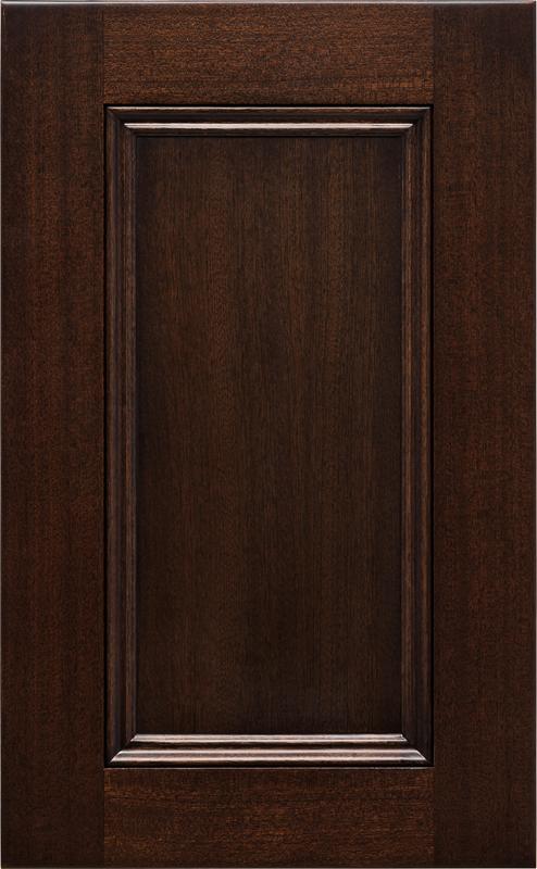 Madison | Sapele | Perfect Brown & Cabinet Doors u003e 3/4 Doors